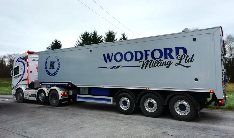 lorry trailer stickers