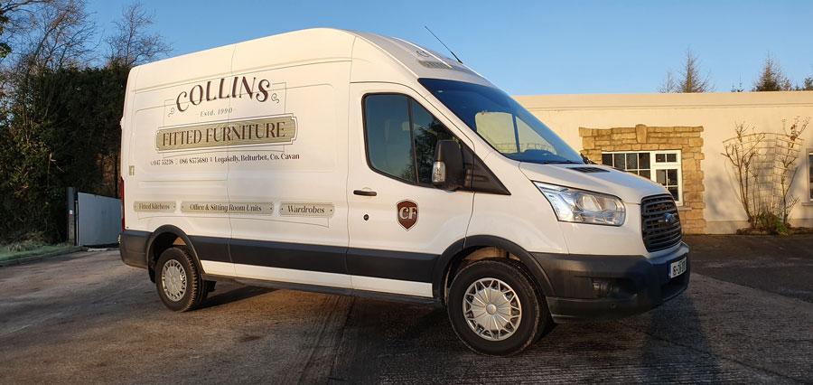 Furniture Van Vehicle graphics