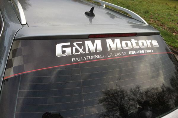 vehicle graphics cavan