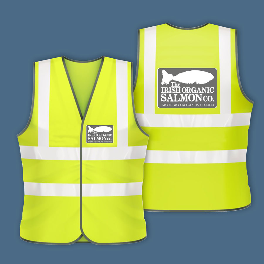custom high vis vest