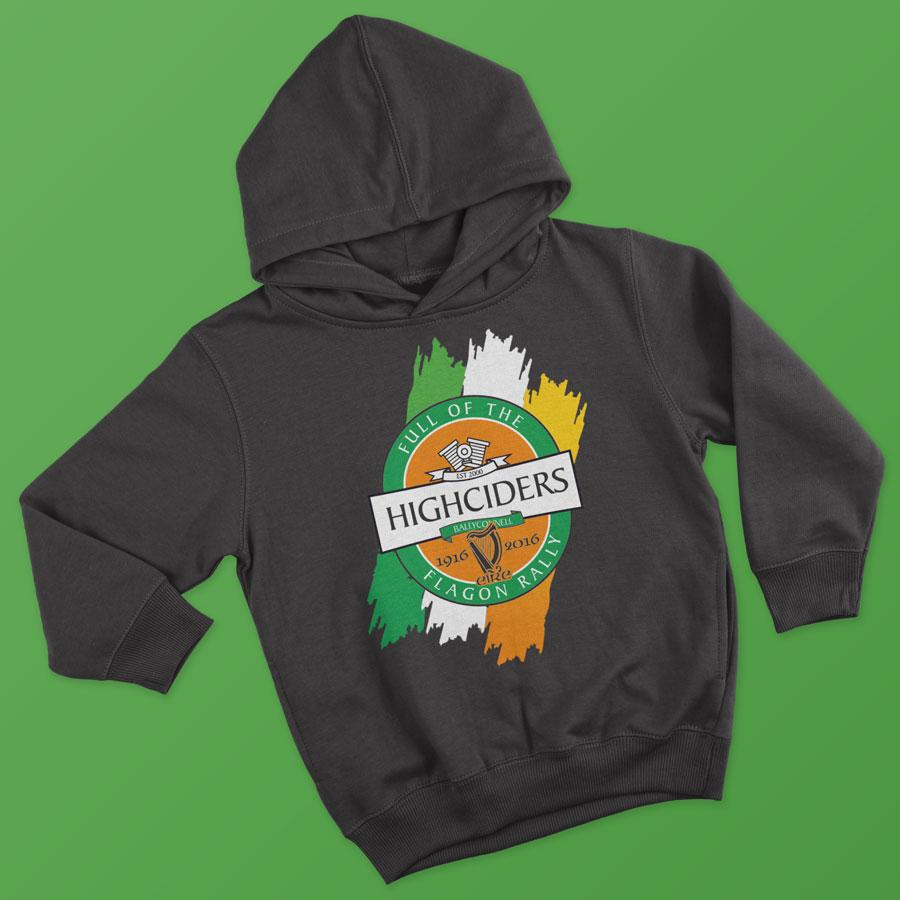 highciders hoodie