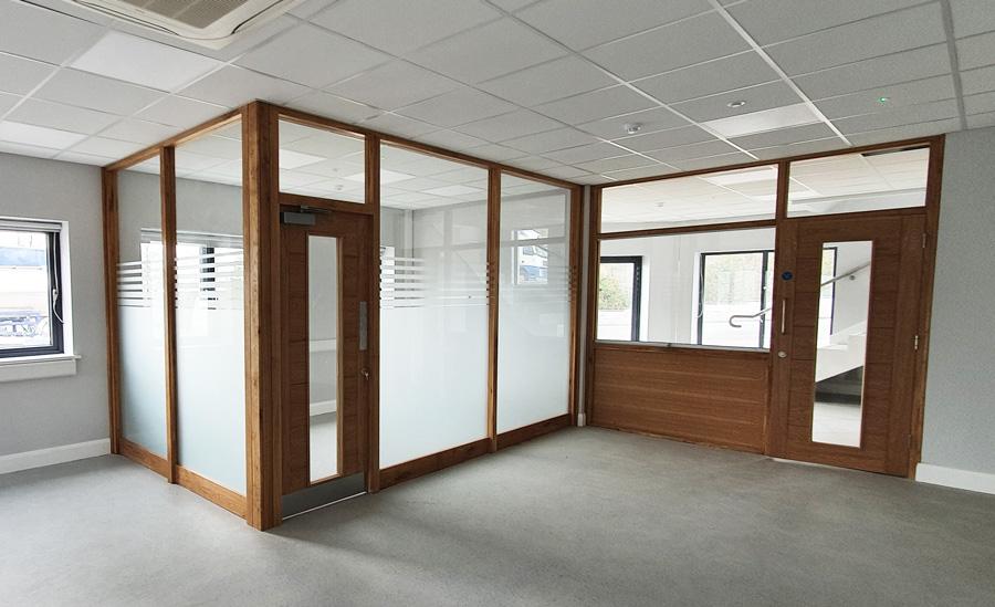 office window frosting