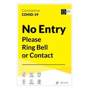 covid-19 no entry