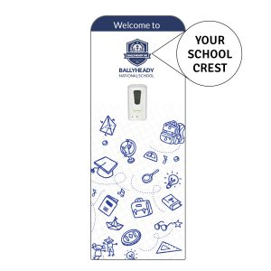 branded school hand sanitiser ireland