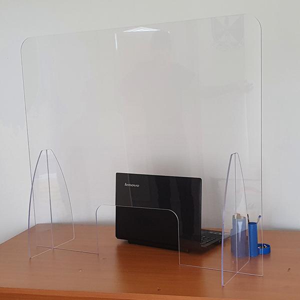 covid-19 teacher desk protection screen