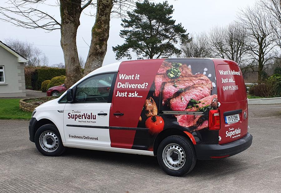 delivery van wrap cavan