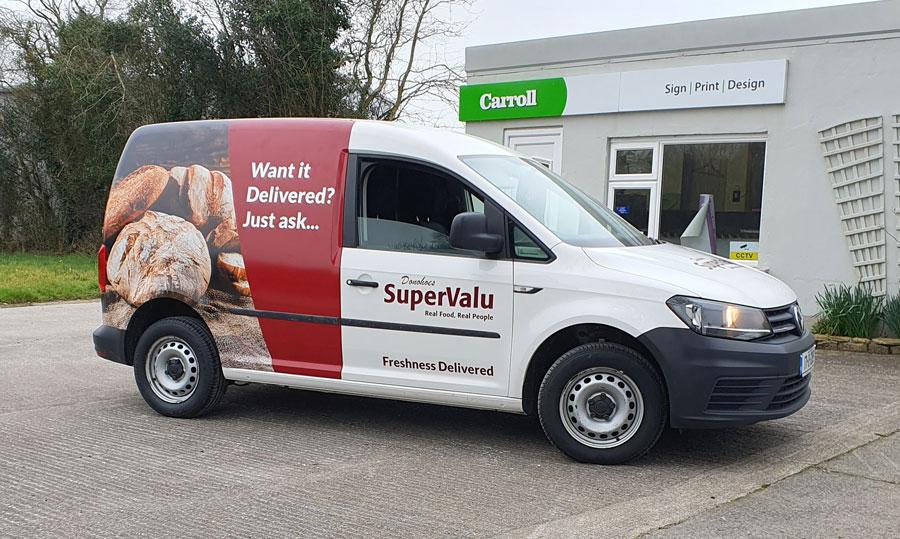 delivery van wrap
